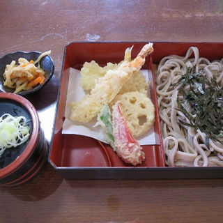 天ざるそば(つくば鮨 (食事処あおき))