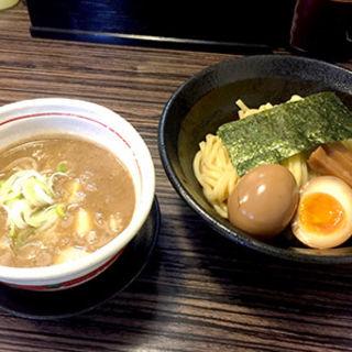 魚貝豚骨並盛り(つけ麺 きらり )