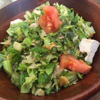 パクチーヤムヤムサラダ(Salbello チョップドサラダカフェ)