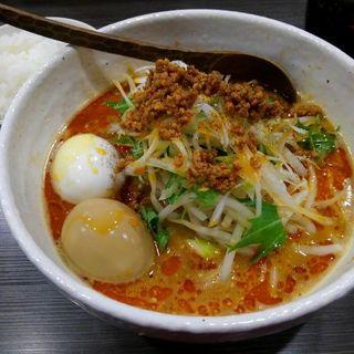 シビカラ胡麻味噌担担麺+味玉(ど・みそ 町田店 )