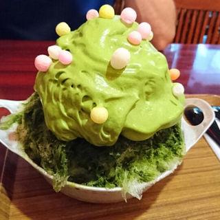 濃厚抹茶エスプーマ(かき氷専門店 ドギャン )