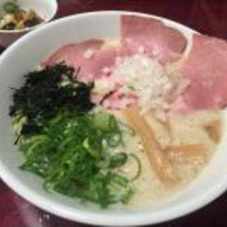 鶏白湯ラーメン(かき氷専門店 ドギャン )