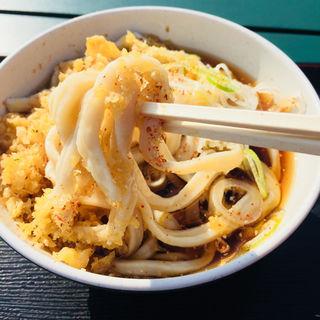たぬきうどん(冷)(京・茶房 TSURU )
