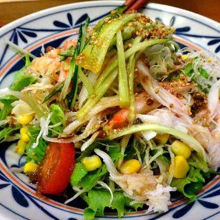 カニサラダ(とも栄鮨)