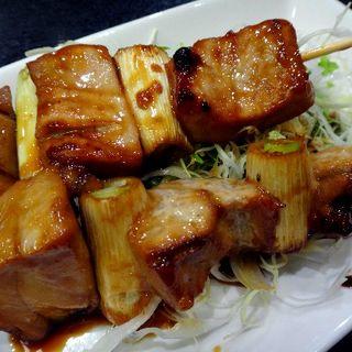 とろ串焼(とも栄鮨)