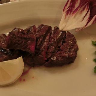 牛フィレ肉の炭火焼(トラットリア デル パチョッコーネ 銀座)