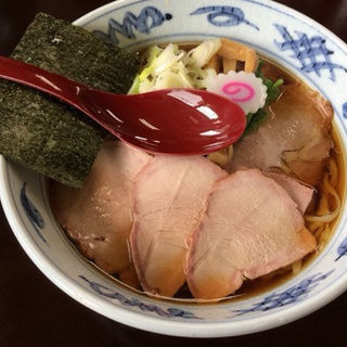 和ダシ焼豚そば(とら食堂 松戸分店 )