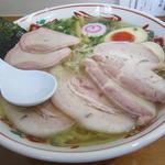 塩焼豚ワンタン麺 味玉入り