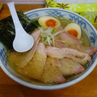 塩焼豚麺味玉入り(とら食堂 松戸分店 )