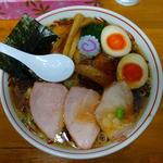 焼豚ワンタン麺味玉入り
