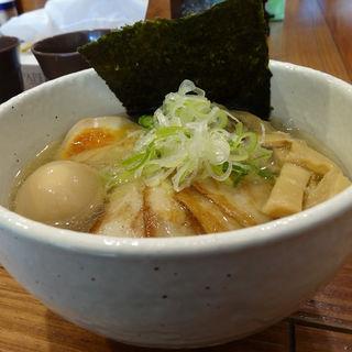 塩そば+チャーシュー+味玉(どろそば屋 ひろし )