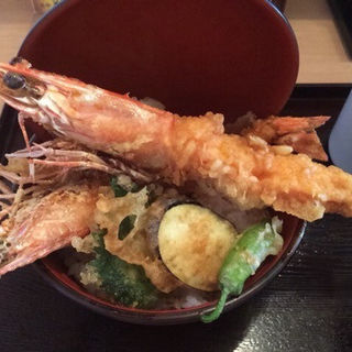 大車海老の天丼(どんと屋 )