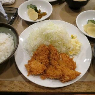 ヒレかつ定食(とん喜)