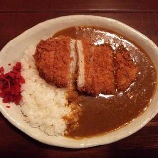 カツカレーの大盛(カレー小屋 吉 (きち))