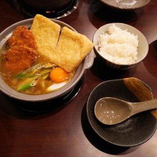 カレーひれかつ煮込みうどん(カレー煮込み工房 倭 (ヤマト))