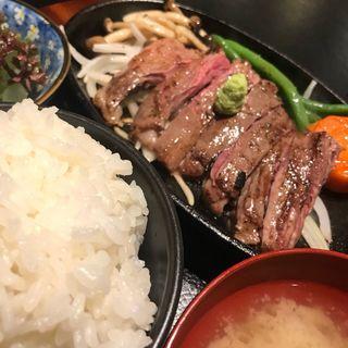 ハラミステーキ(神戸牛居酒屋 四方善)
