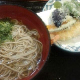 天ぷら蕎麦(くらま温泉 )