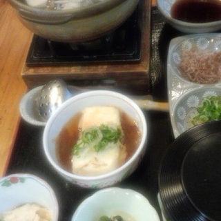 湯豆腐御膳(くらま温泉 )