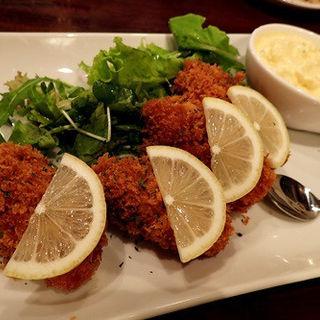 広島・真牡蠣のフライ 1pc(ザ フィッシュ アンド オイスターズ (The fish and oysters))