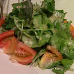 八ヶ岳産クレソンとトマトのサラダ