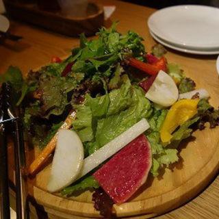 レモン塩サラダ(ザ・ロワーライト ビア&キッチン (THE LOWER RIGHT))