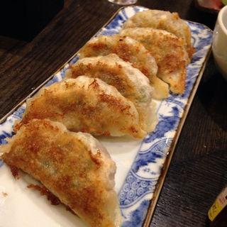 マグロ餃子(さかな・炙り 暖 (ダン))
