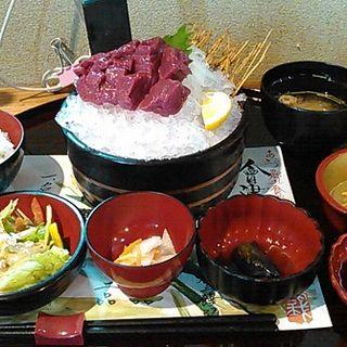 極上赤身桜刺し膳(さくら鍋 鶴我 (サクラナベツルガ))