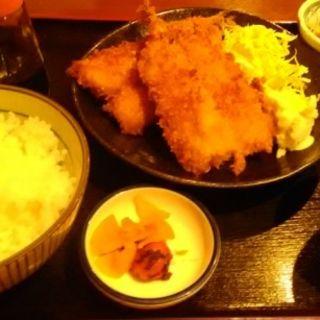 ジャンボイワシフライ定食(ざっか屋191)