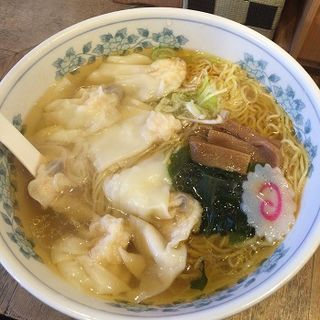 海老ワンタン麺(しお丸 )