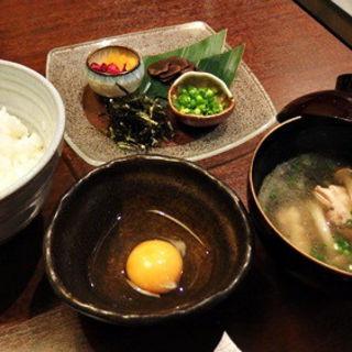 名古屋コーチン玉子の卵かけごはんトリュフのせ(ジゴロ 御茶ノ水店 )