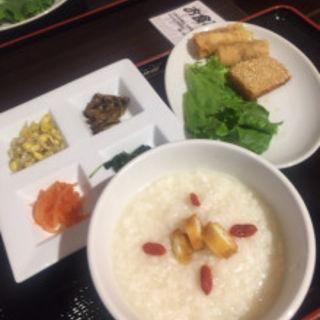 中華風博多粥膳(じゃこくじら )