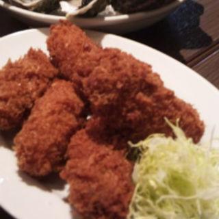 カキフライ(4ピース)(シュリンプ&オイスターバー 横浜モアーズ店 )