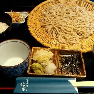 蕎麦セット 大盛(そば切り 稲美 )
