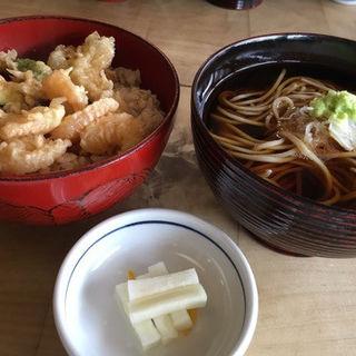 天丼セット(そば切り 雪月花 )