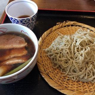 鴨南せいろ(そば屋 けん豆 )