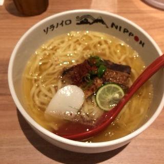 沖縄式角煮塩ラーメン(ソラノイロ ニッポン (ソラノイロ NIPPON))