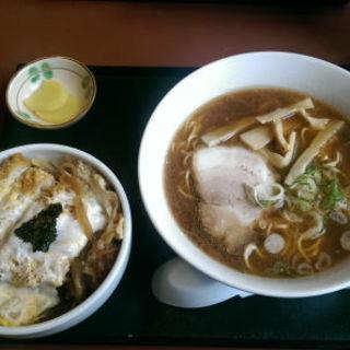 カツ丼セット(ラーメン)