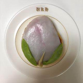 桃カステラ(万月堂 (マンゲツドウ))