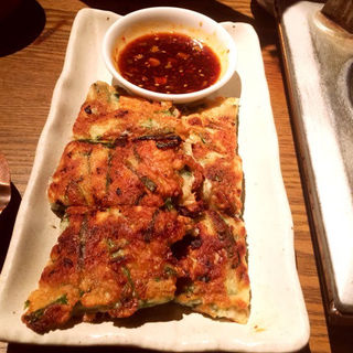 キムチチーズチヂミ(タル家 (タルヤ))