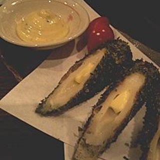 ちくわのチーズ磯辺揚げ(ぢどり長屋)