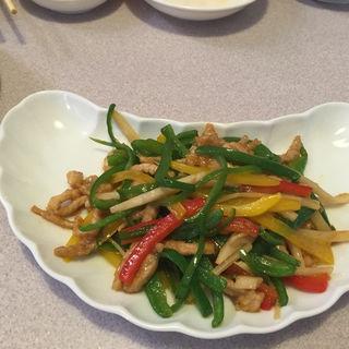 ランチセット(豚肉とピーマンの細切り炒め)(チャイナハウス 桂花楼 )