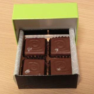 藻塩ショコラ4個入り(チョコレート工房 クレオバンテール )