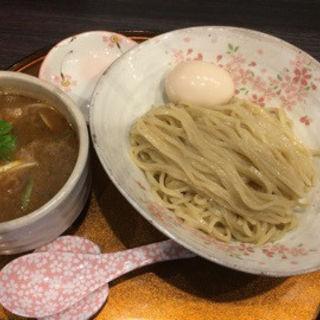 鶏と貝のつけ麺(チラナイサクラ  御徒町店)