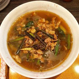 花山椒と山菜の旨煮ラーメン ※限定(チラナイサクラ )