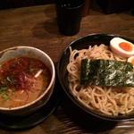 辛つけ麺(つけ麺 雀 アメ村本店 (スズメ))
