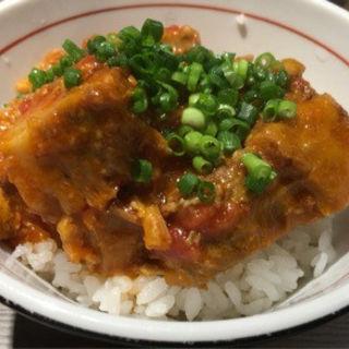 大人のあらいめし 豚のトマト煮丼(つけ麺一燈 (ツケメンイットウ))