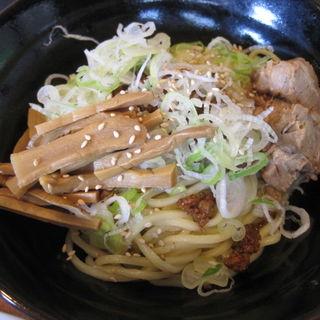 汁なし坦々麺(ひやもり)(つけ麺屋しずく )