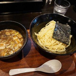 濃厚魚介つけ麺の冷盛の並(つけ麺屋しずく )