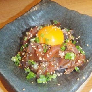 炙り鰹のユッケ(ととどり (~魚鶏~))