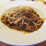 和牛ミートソースのスパゲッティ(トラットリア タンタボッカ (trattoria Tanta Bocca))